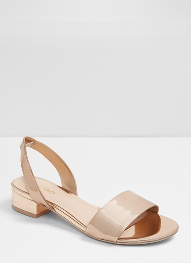 Aldo Candice - Pembe Metalik Kadin Sandalet Pembe